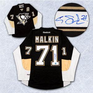 Evgeni Malkin Pittsburgh Penguins Autographed Reebok Premier Jersey