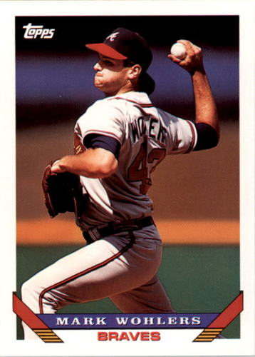Photo of 1993 Topps #8 Mark Wohlers