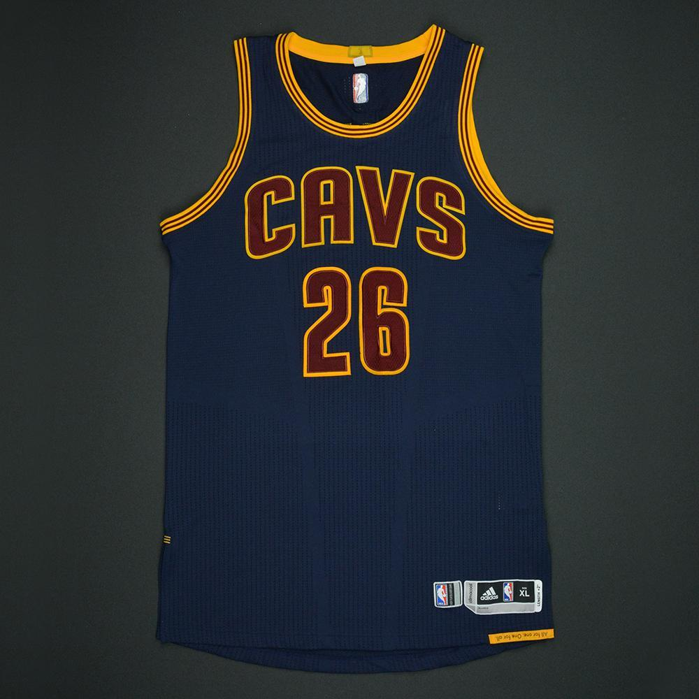 Kyle Korver - Cleveland Cavaliers - 2017 NBA Finals - Game 1 - Game-Worn Navy Jersey