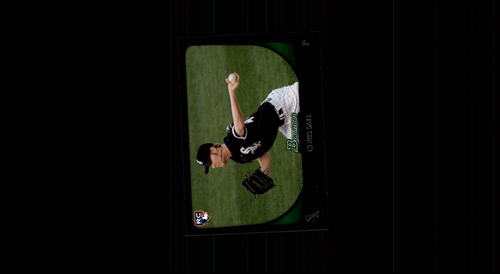 Photo of 2011 Bowman #220 Chris Sale Rookie Card -- Red Sox post-season