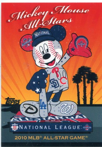 Photo of 2010 Topps Mickey Mouse All-Stars #MM3 National League