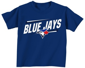 Toronto Blue Jays Infant Slant T-Shirt Royal by Bulletin