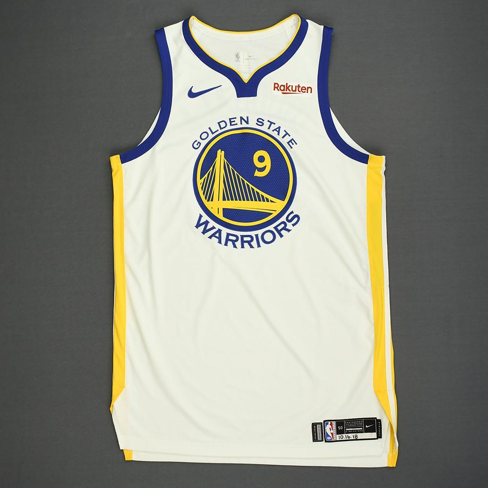 Andre Iguodala - Golden State Warriors - Kia NBA Tip-Off 2018 - Game-Worn Association Edition Jersey