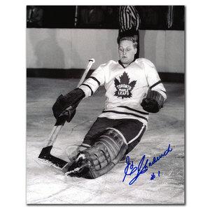Ed Chadwick Toronto Maple Leafs Autographed 8x10