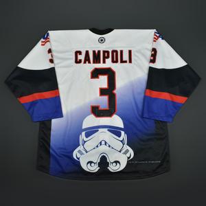 Michael Campoli - 2016 U.S. National Under-18 Development Team - Star Wars Night Game-Worn Jersey