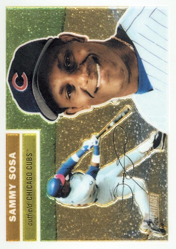 Photo of 2005 Topps Heritage Chrome #THC20 Sammy Sosa