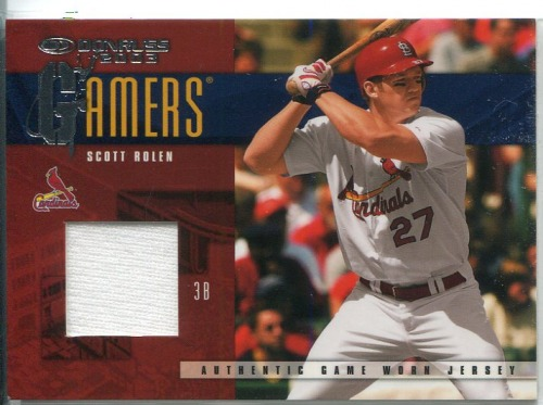 Photo of 2003 Donruss Gamers #28 Scott Rolen