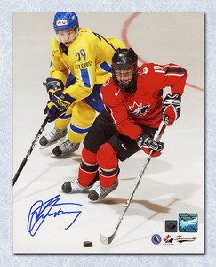 Steven Stamkos Team Canada Autographed World Juniors 8x10 Photo *Tampa Bay Lightning*