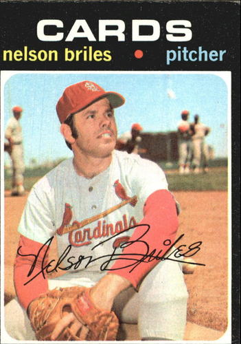 Photo of 1971 Topps #257 Nelson Briles