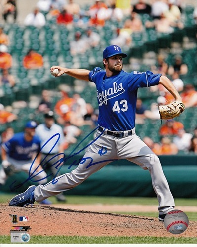 Photo of Aaron Crow Autographed 8x10