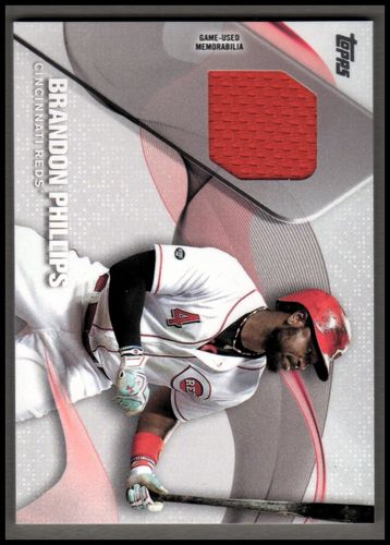 Photo of 2017 Topps Major League Materials #MLMBPH Brandon Phillips