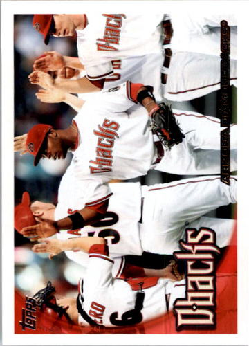 Photo of 2010 Topps #539 Arizona Diamondbacks