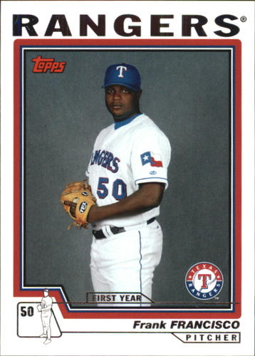 Photo of 2004 Topps Traded #T111 Frank Francisco FY RC