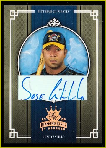 Photo of 2005 Diamond Kings Signature Bronze #181 Jose Castillo/100