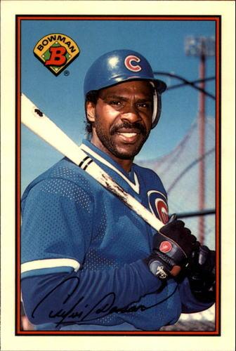 Photo of 1989 Bowman Tiffany #298 Andre Dawson