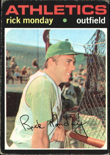 Photo of 1971 Topps #135 Rick Monday