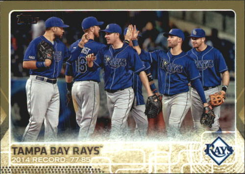 Photo of 2015 Topps Gold #669 Tampa Bay Rays