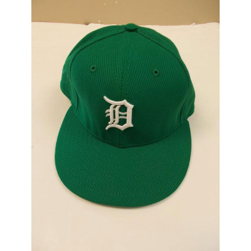 Photo of Game-Used Anibal Sanchez St. Patrick's Day Cap
