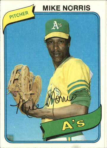 Photo of 1980 Topps #599 Mike Norris
