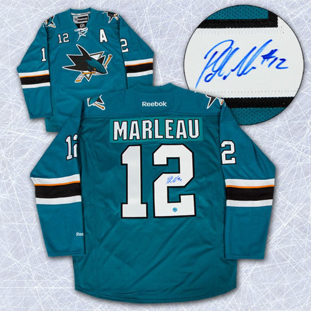 Patrick Marleau San Jose Sharks Autographed Hockey Jersey
