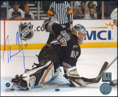 OLAF KOLZIG Washington Capitals SIGNED 8x10 Photo