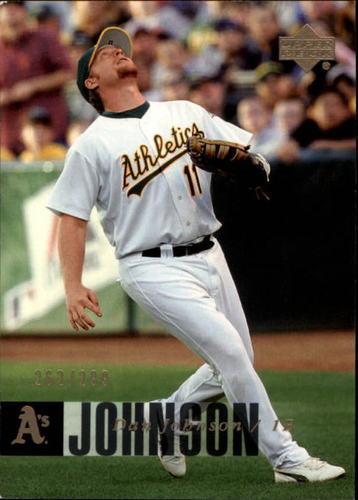 Photo of 2006 Upper Deck Gold #324 Dan Johnson /299