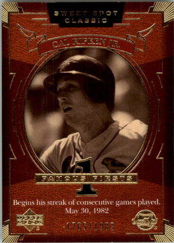 Photo of 2004 Sweet Spot Classic #95 Cal Ripken FF/1982