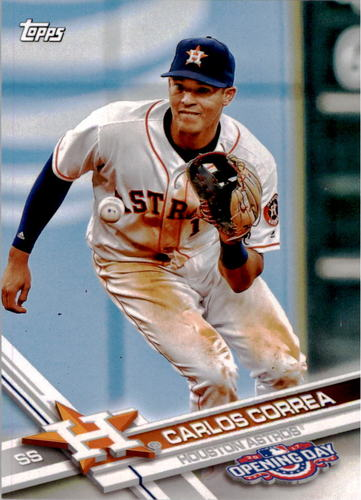 Photo of 2017 Topps Opening Day #197A Carlos Correa