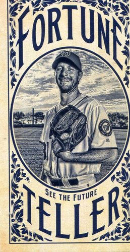 Photo of 2017 Topps Gypsy Queen Fortune Teller Mini #FTMS Max Scherzer