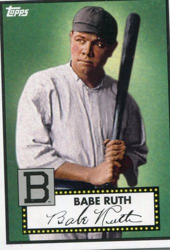 Photo of 2012 Topps National Convention VIP #412 Babe Ruth