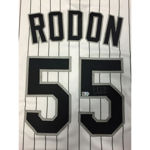 Photo of Sox Pride Club 2017 Auction: Carlos Rodon Autographed Jersey