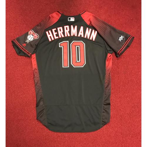 Photo of Chris Herrmann Team-Issued 2016 Los D-backs Jersey
