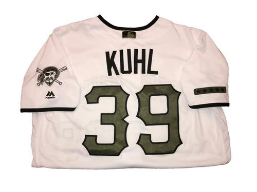 Photo of Chad Kuhl Game-Used Memorial Day Weekend Jersey