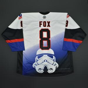 Adam Fox - 2016 U.S. National Under-18 Development Team - Star Wars Night Game-Worn Jersey