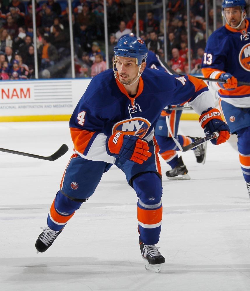 Jersey off the Back of Radek Martinek - New York Islanders