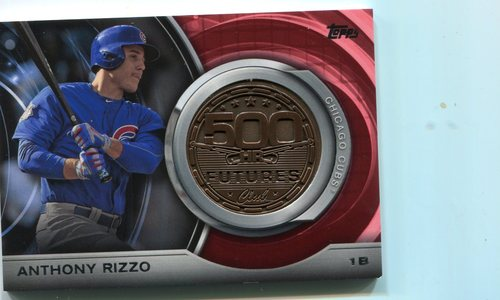 Photo of 2016 Topps Update 500 HR Futures Club Medallions #500M17 Anthony Rizzo