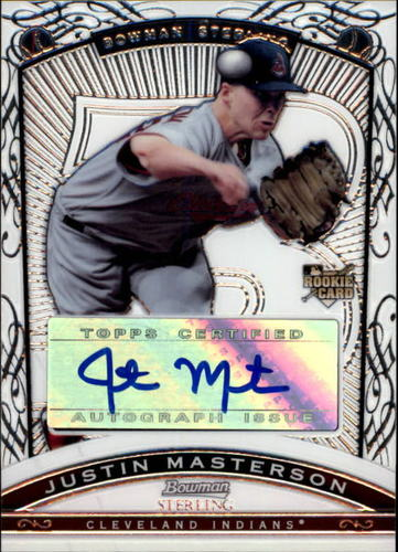 Photo of 2009 Bowman Sterling #JM Justin Masterson AU (RC)