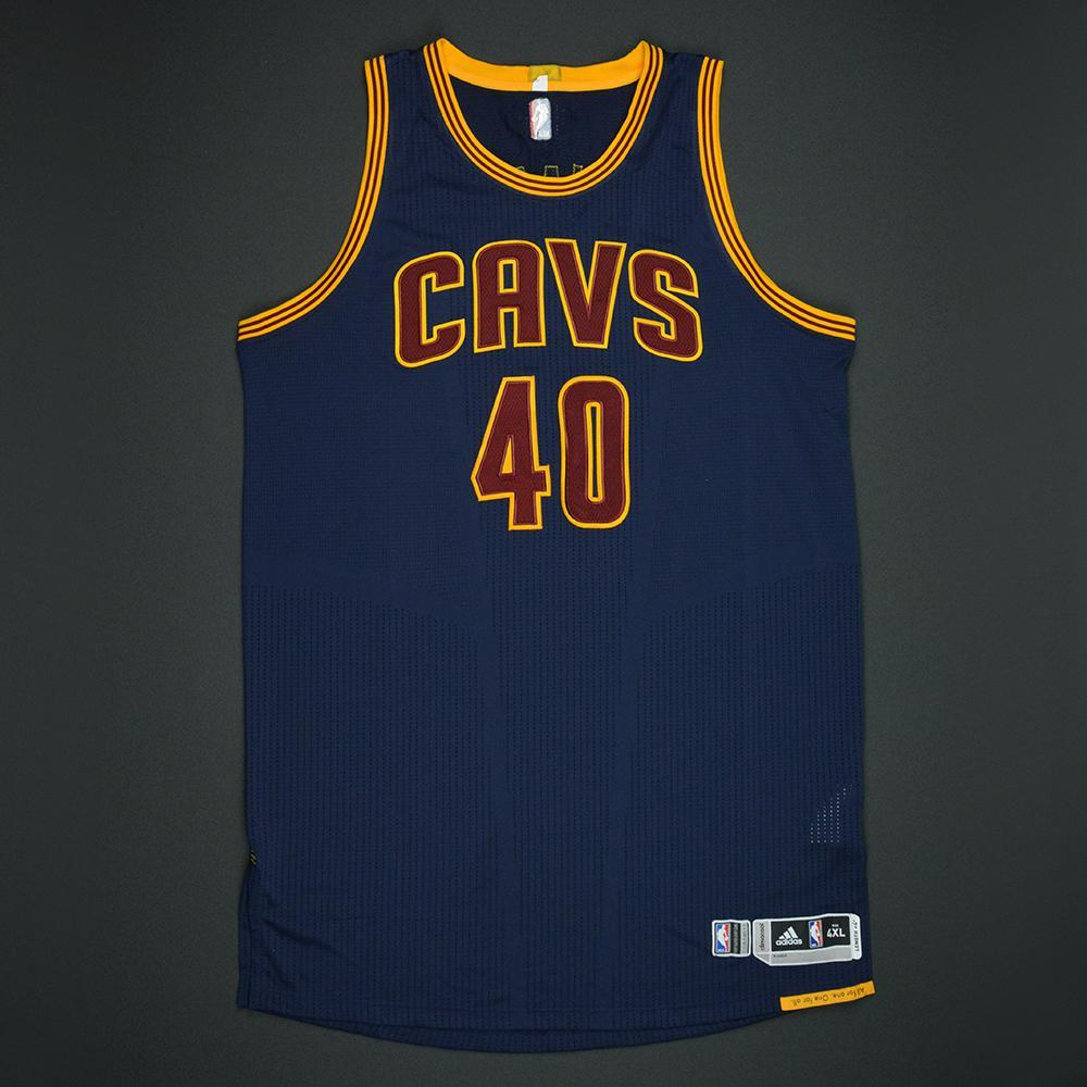 Edy Tavares - Cleveland Cavaliers - 2017 NBA Finals - Game 1 - Game-Issued Navy Jersey