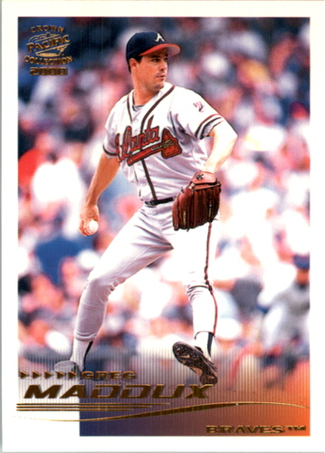 Photo of 2000 Pacific Crown Collection #25 Greg Maddux