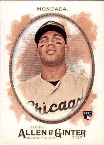 Photo of 2017 Topps Allen and Ginter #281 Yoan Moncada Rookie Card