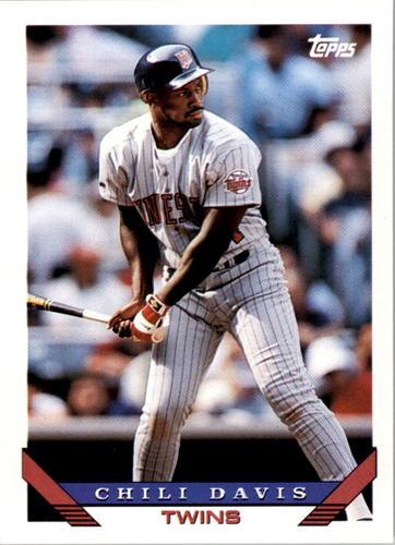 Photo of 1993 Topps #455 Chili Davis