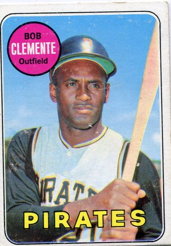 Photo of 1969 Topps #50 Roberto Clemente -- Hall of Famer
