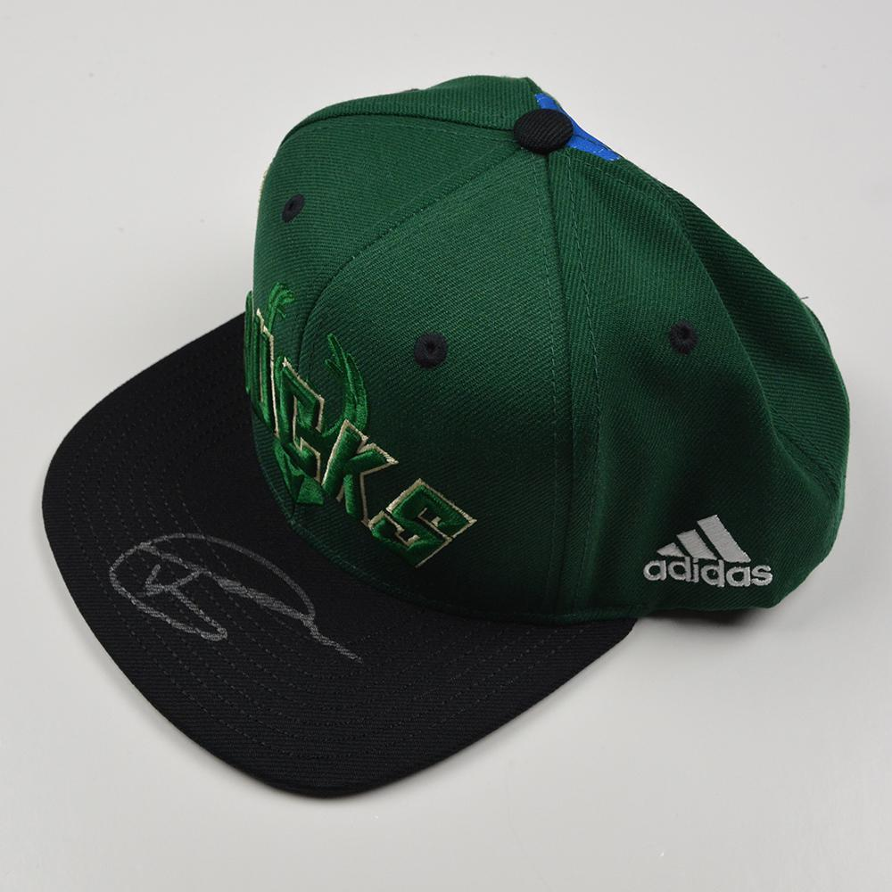 Thon Maker - Milwaukee Bucks - 2016 NBA Draft - Autographed Hat