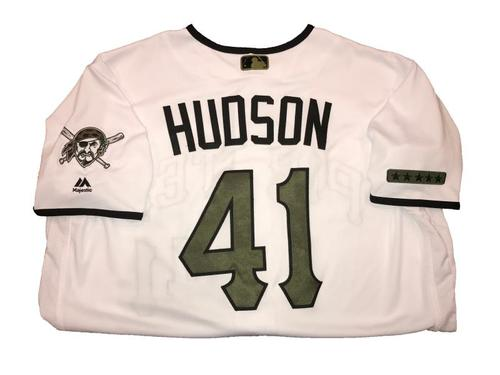 Photo of Daniel Hudson Game-Used Memorial Day Weekend Jersey