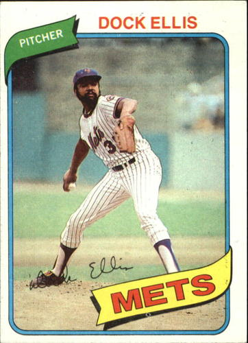 Photo of 1980 Topps #117 Dock Ellis