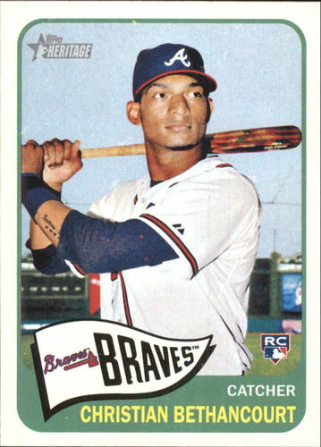 Photo of 2014 Topps Heritage #H567 Christian Bethancourt RC
