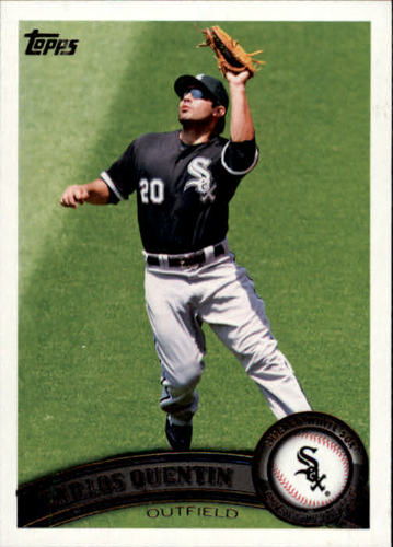 Photo of 2011 Topps #389 Carlos Quentin
