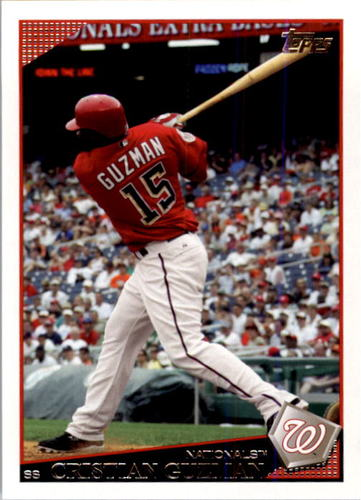 Photo of 2009 Topps #608 Cristian Guzman