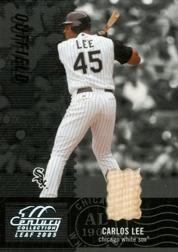 Photo of 2005 Leaf Century Material Bat #145 Carlos Lee/250