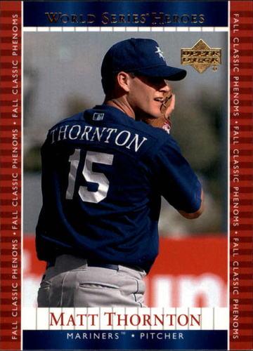 Photo of 2002 Upper Deck World Series Heroes #113 Matt Thornton PH RC